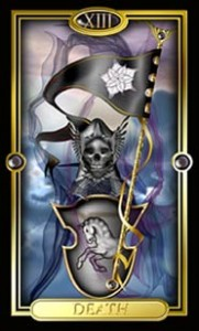Death card as final outcome card