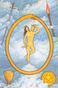 The Mythic tarot -- The World