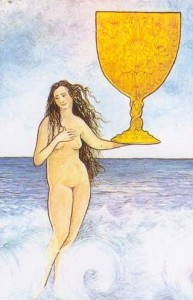Mythic Tarot Ace of Cups